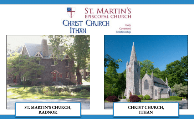 St, Martin's Church, Radnor Covenant with Christ Church, Ithan